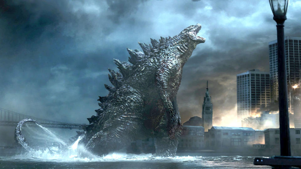 """Godzilla"" is out of control. A Warner Bros. film"